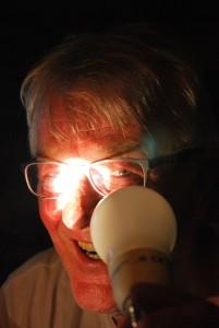 Wolfgang Teipel schwärmt für Licht aller Art. Foto: Elke Teipel