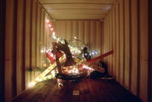 Diese Installation von Klaus Geldmacher war 2002 zu sehen. Foto: Claus Langer