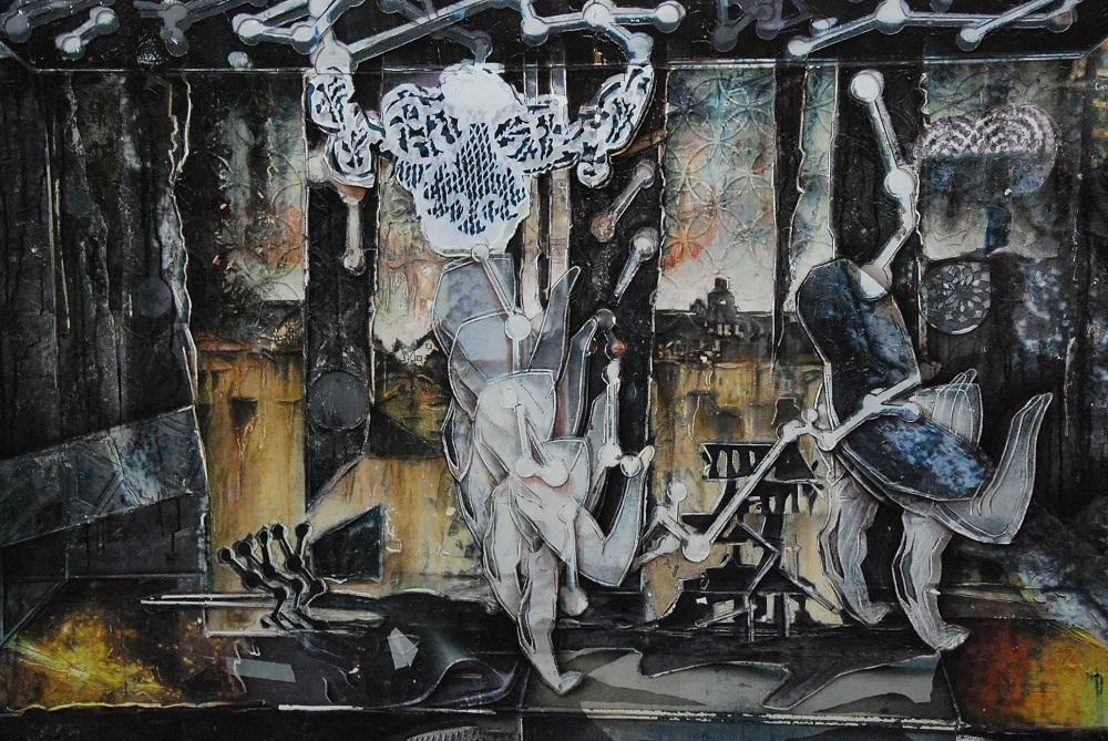 "Sebastian Ludwigs Werk ""Scorpio"". Foto: Wolfgang Teipel"