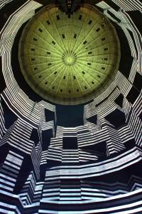 """Lichtinstallation """"320° Licht"""" von Urbanscreen im Gasometer Oberhausen Foto: Wolfgang Volz"""
