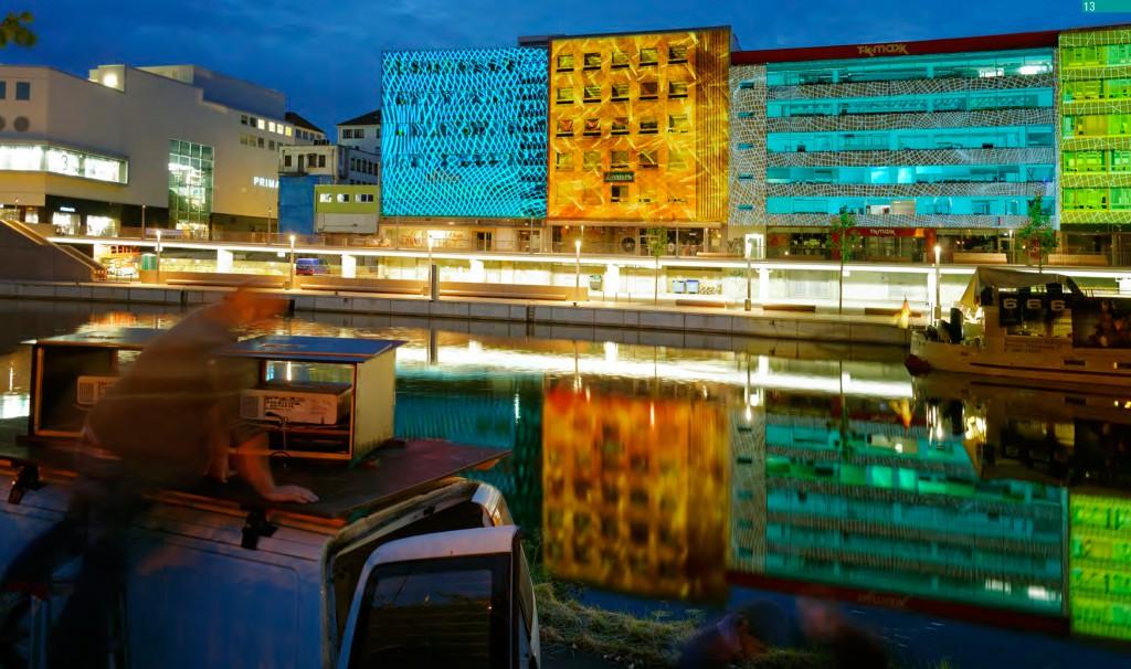 So präsentierte sich die Berliner Promenade in Saabrücken vom 25. bis 27. April. Foto: Daniel Hausig