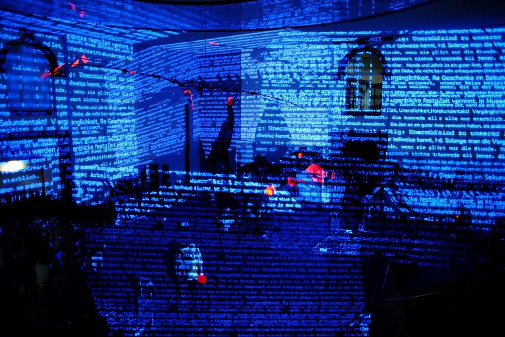 """Auch die Installation """"Inbetween"""" von Philipp Geist wird in Celle zu sehen sein. Foto: Thomas Schroör"""