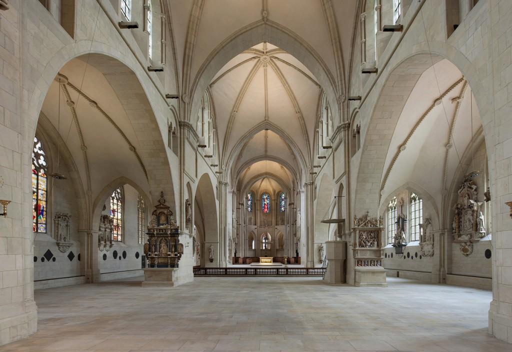 Der St. Paulus Dom zu Münster erhielt des Deutschen Lichtdesignpreis in der Kategorie Kulturbauten. Fotos: Andreas Lechtape