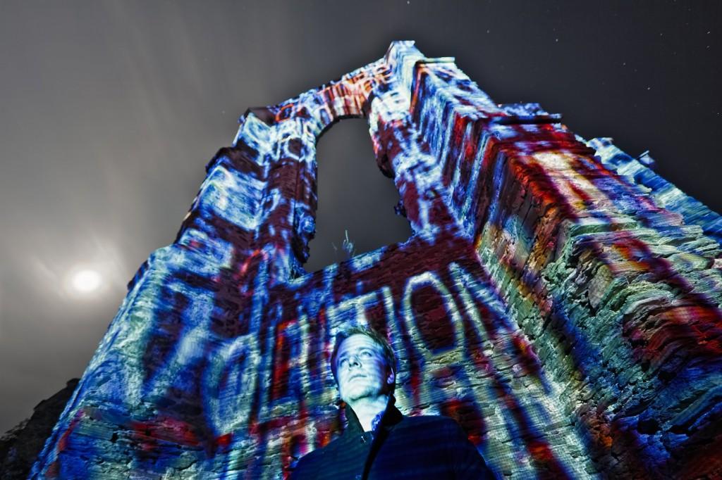 Philipp Geist verbindet Architektur und Lichtkunst. Foto: Oliver Blume