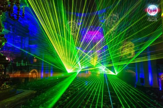 """""""Lumissimo"""" - Impressionen vom festival 2014. Foto: www.festival of Lights.de"""